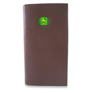 John Deere Checkbook Holder with Logo Patch