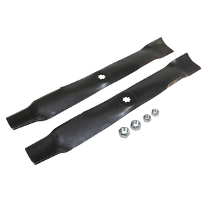 "Lawn Mower Blades ( Mulch ) for 100, D100, E100, LA100, LT, S200, SST, X300 and Z200 Series with 42"" Deck"