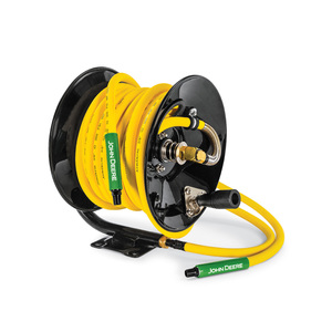Air Compressors Home Workshop Products John Deere Us >> Manual Air Hose Reel With 50 X 3 8 Hybrid Polymer Hose At 4807 J
