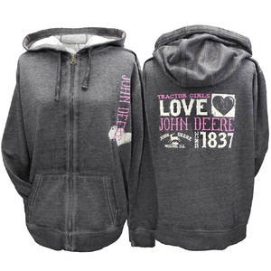 Ladies Charcl F.Zip Love Hde S-2X, BP
