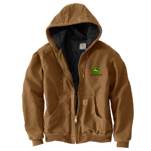 Men's Carhartt Brown Hooded Jacket