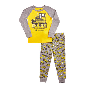 Boys Construction Pajamas