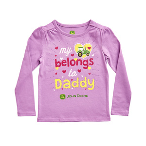 Toddler My Heart Belongs To Daddy T-Shirt