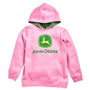 Youth Pink Trademark Pull-Over Sweatshirt