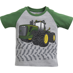 Infants/ Toddlers Raglan Tractor Tread T-Shirt