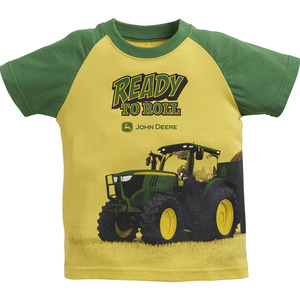 Toddlers Raglan Ready To Roll T-Shirt