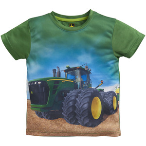 Toddlers Tractor Photo Graphic T-Shirt
