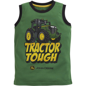 Boys Tractor Tough Muscle T-Shirt