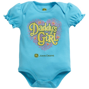 Infants Daddy's Girl Heart Bodyshirt