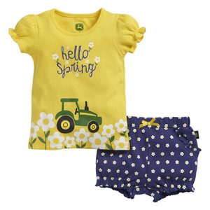Infants Hello Spring Short Set