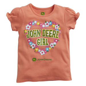 Infants/ Toddlers John Deere Girl T-Shirt