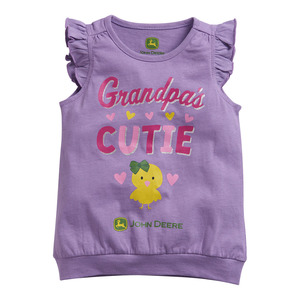 Toddlers Grandpa's Cutie Banded T-Shirt