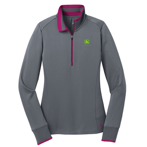 Ladies Golf Dri-FIT Half-Zip Pullover