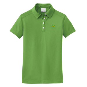 Ladies Golf Dri-FIT Pebble Texture Polo