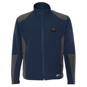 Mens Navy Soft Shell Jacket