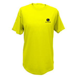 Men's High Vis Yellow Poly Tee