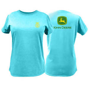 Womens FFA and John Deere Partner T-Shirt