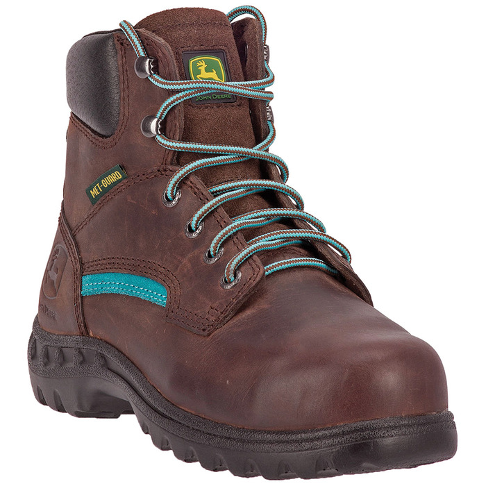 "Women's 6"" Lace-Up Metatarsal Steel Toe Boot"