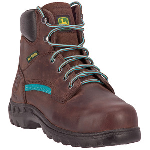 "Womens 6"" Lace-Up Metatarsal Steel Toe Boot"