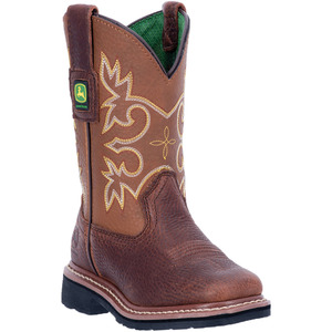 Youth Pull On Mesquite Brown Boot