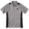 Two-Tone Neutral Logo Polo Shirt