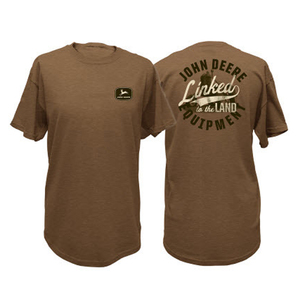 Mens Brown Land Tee
