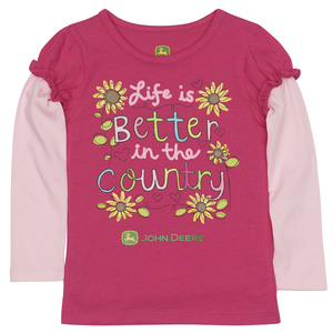 Life Is Better Country Tee