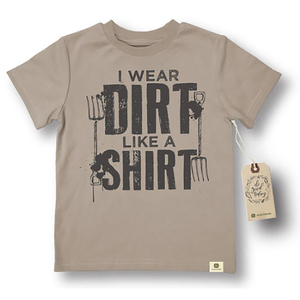 Do Good Today Kids Oatmeal Dirt Tee 12M - 4T