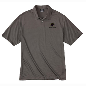 Men's Nike Dri-Fit Dark Gray Polo S-4X