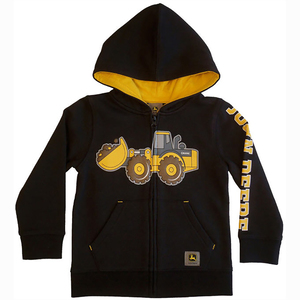 Front Loader Fleece Zip Up Hoodie