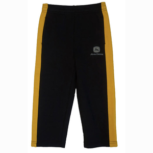 Black and Yellow Fleece Pants