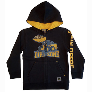 Dirt Zone Zip Up Hoodie