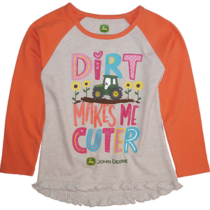 Dirt Makes Me Cuter Tee