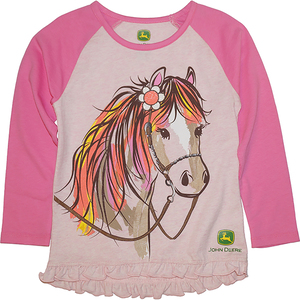 Colorful Horse Tee