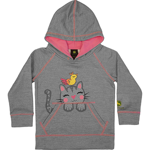 Barn Cat Fleece Hoodie