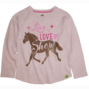 Live, Love Show Horse Tee