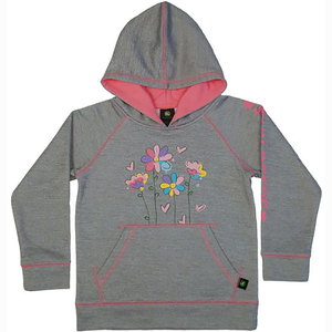 Flowers Zip Up Hoodie