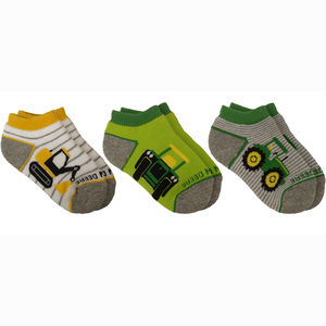 3-Pack Shorties Socks 12M-4T