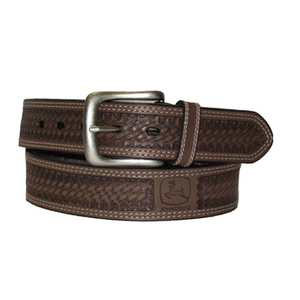 Men's Basketweave Belt