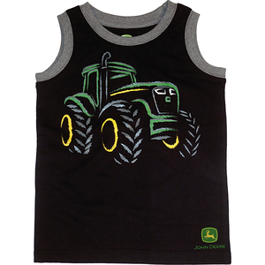 Glow in the Dark Tractor Muscle Tee