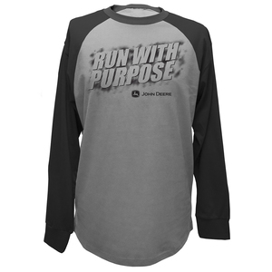 Runs with Purpose Raglan T-Shirt