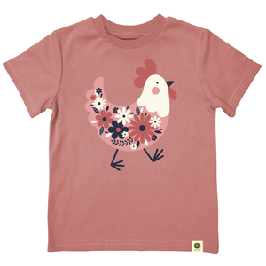 Do Good Today Floral Chicken T-Shirt