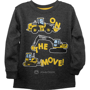On the Move Construction T-Shirt