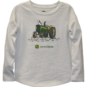 Vintage Tractor with Puppy T-Shirt