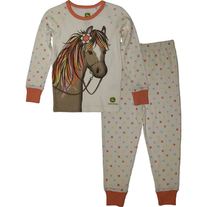 Horse and Polka Dots Pajamas