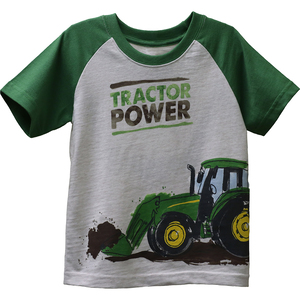 Tractor Power Raglan T-shirt