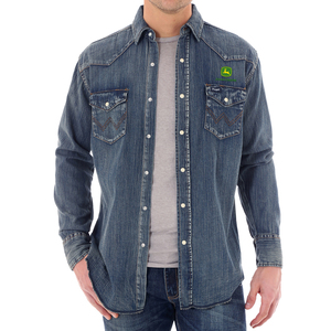 Wrangler Cowboy Cut Denim Shirt