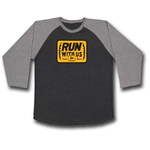 Run with Us Raglan