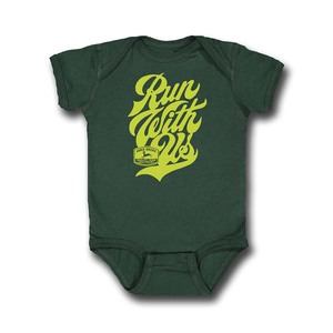 Green Run with Us Bodysuit