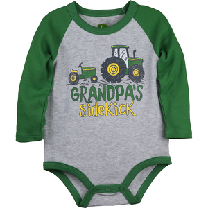 Grandpa's Sidekick Long Sleev Bodyshirt